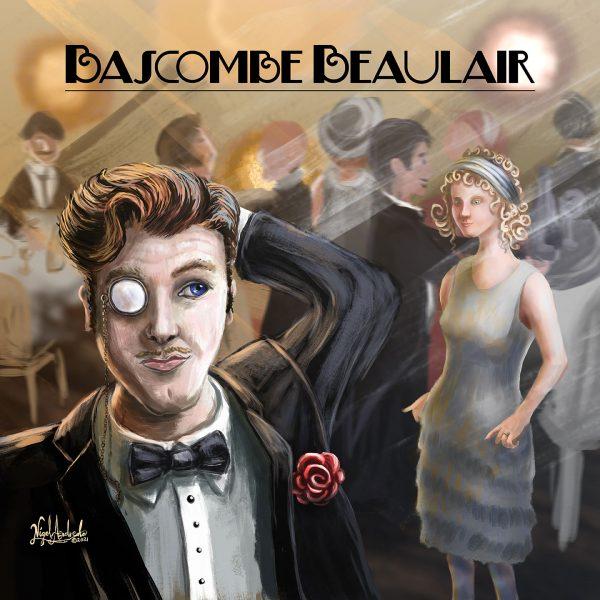 Bascombe Beaulair album cover art by Nigel Andreola