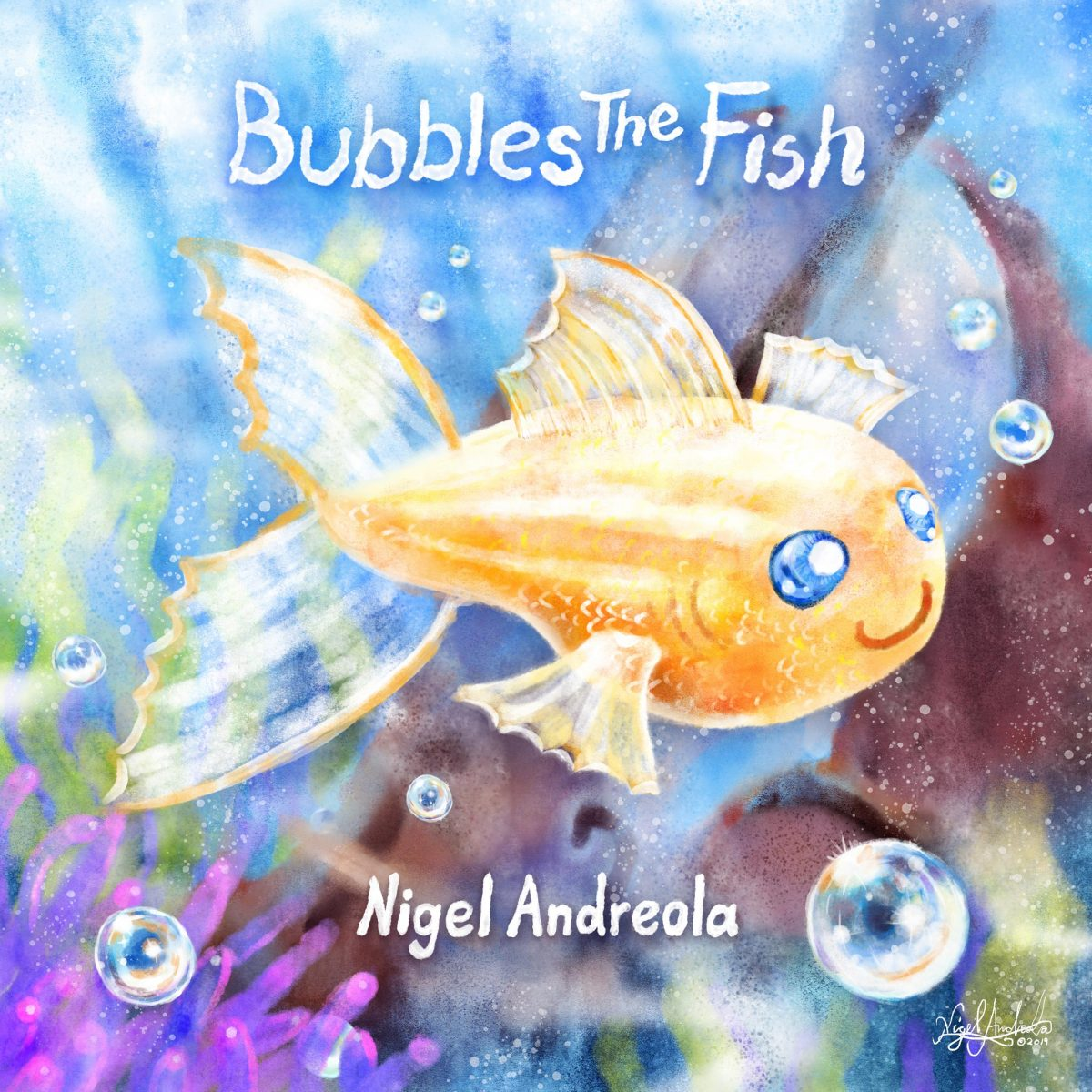 Bubbles The Fish Nigel Andreola