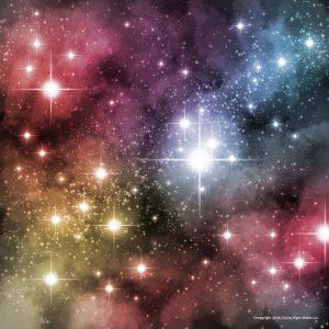 Custom realistic starfield brush and nebula painting Photoshop tutorial