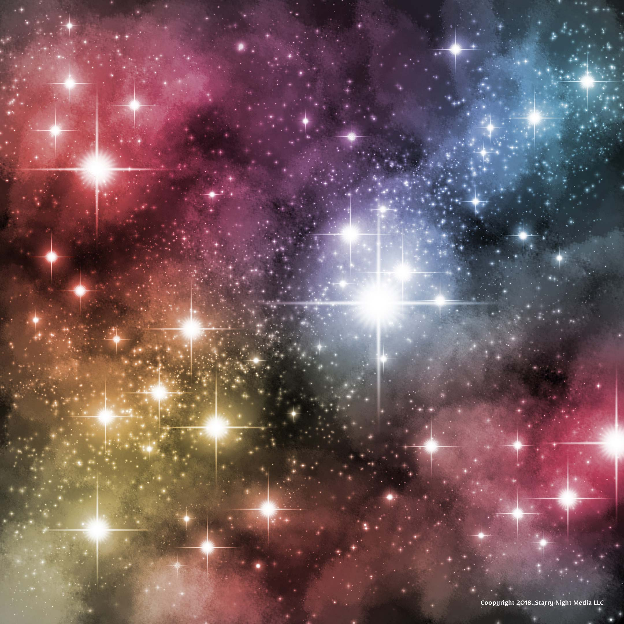 Custom realistic starfield brush and nebula painting Photoshop tutorial