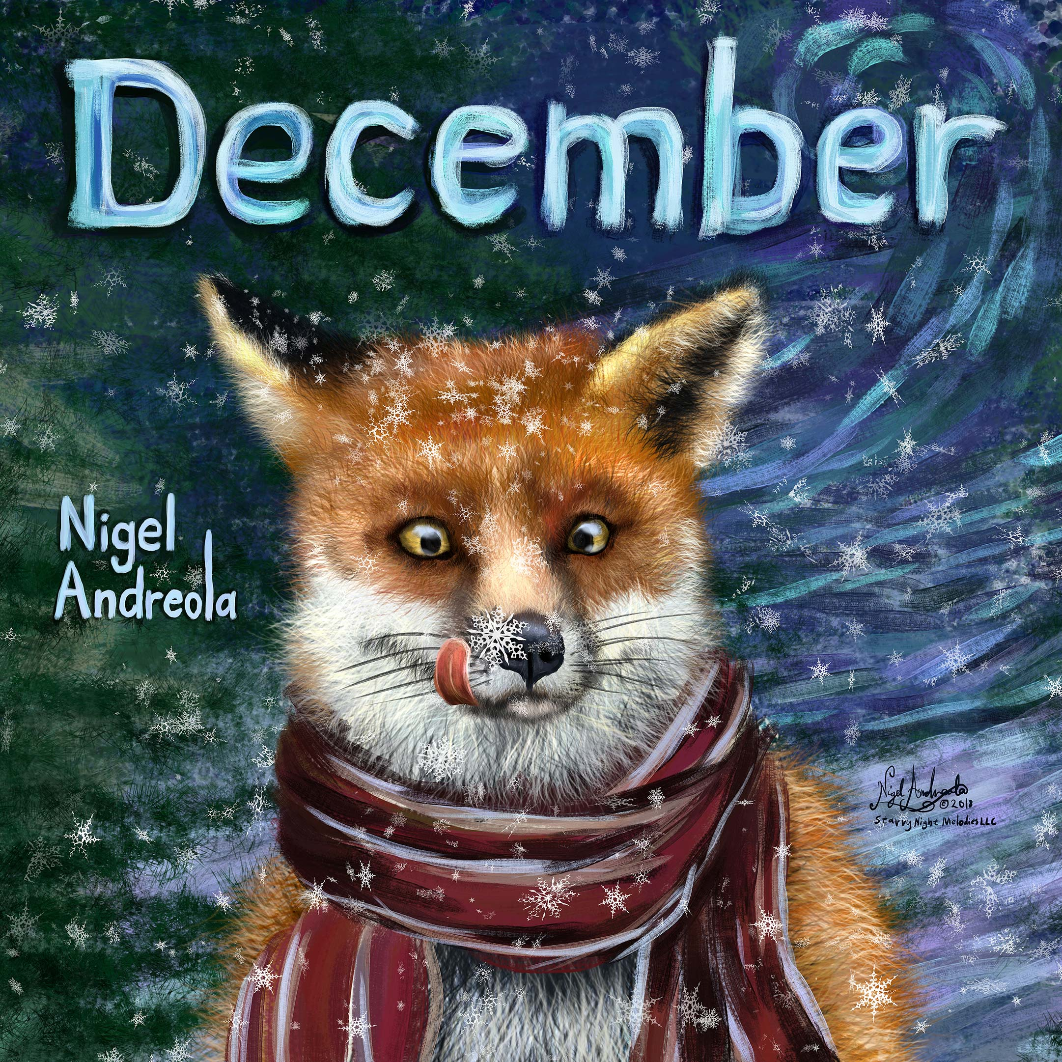 December Music Single Nigel Andreola