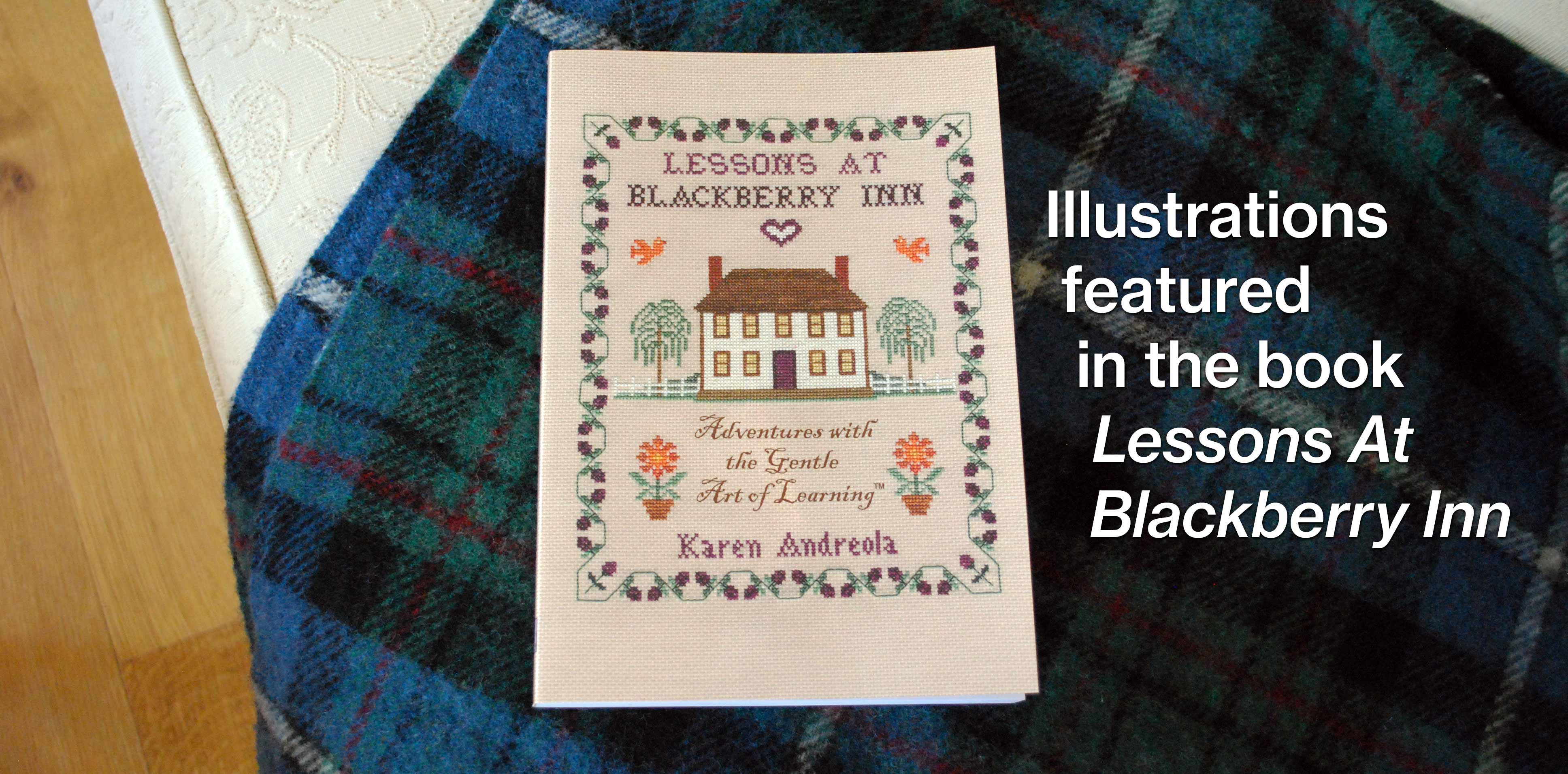 Illustrations featured in the book Lessons At Blackberry Inn