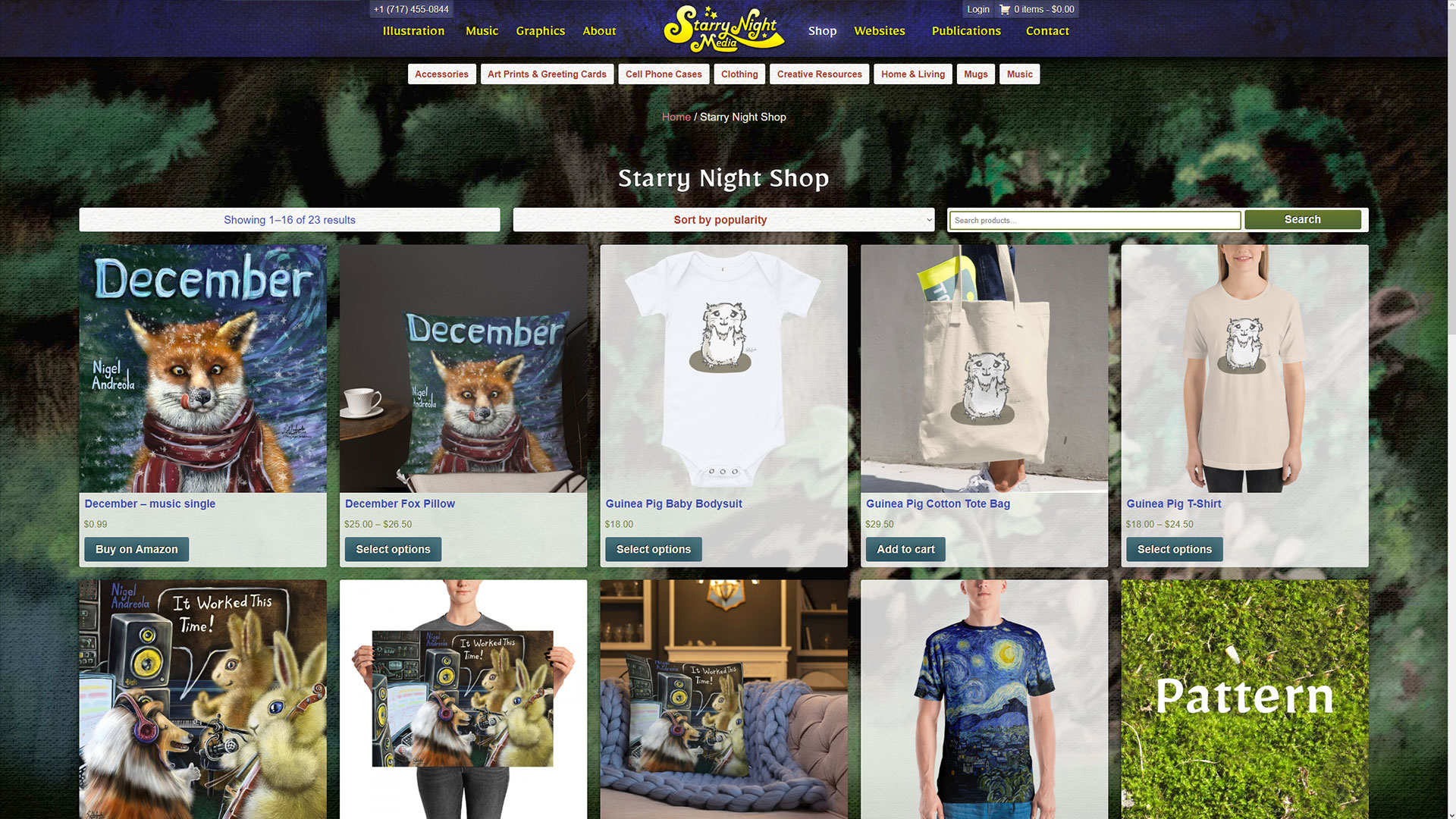 Starry Night Media Store