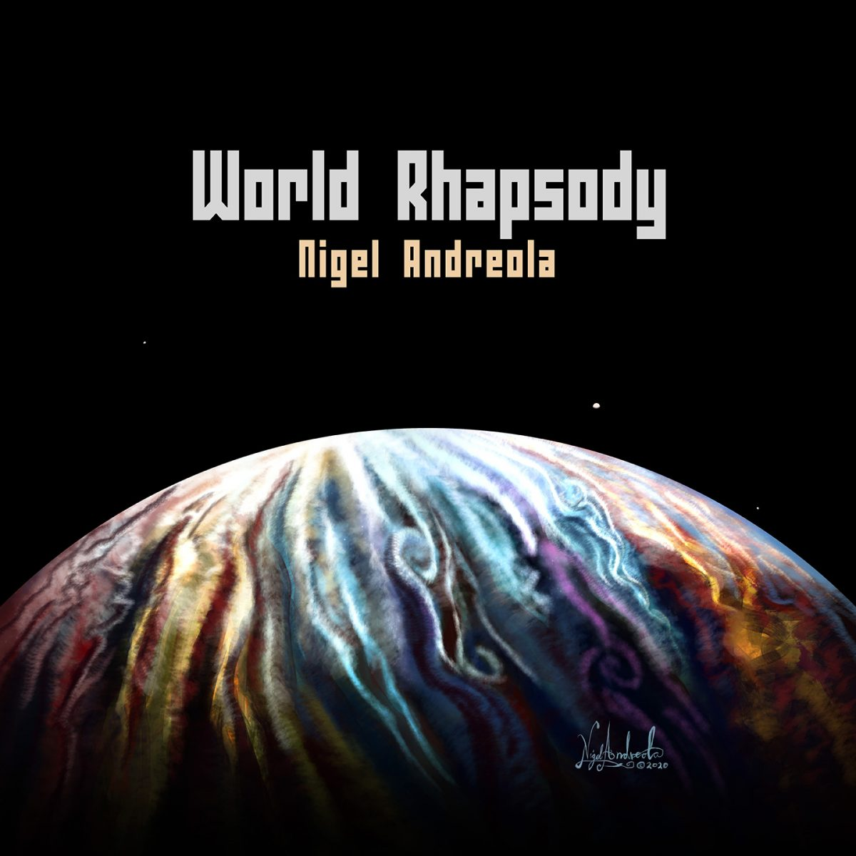 World Rhapsody by Nigel Andreola