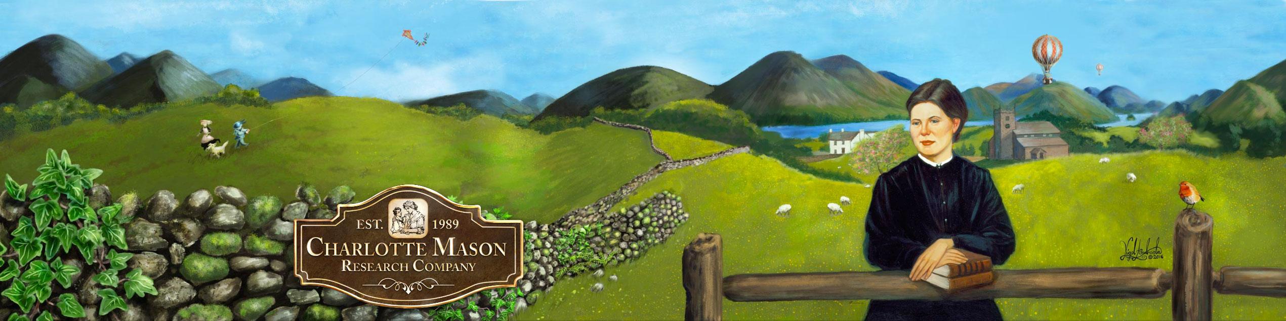 Charlotte Mason website banner-illustration